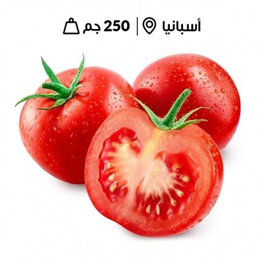 طماطم كرزية حمراء أسبانيا طازجة( 250 جم تقريبا)