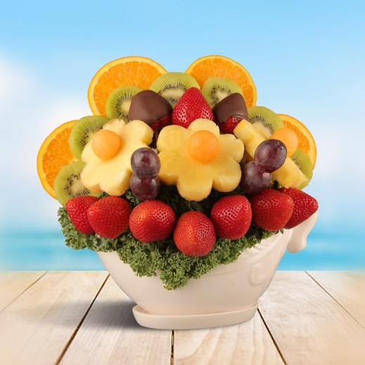 باقة جمال الفواكه  - يتم التوصيل بواسطة Fruit Art