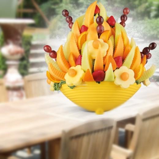 طبق فواكه ترفيهى  - يتم التوصيل بواسطة Fruit Art