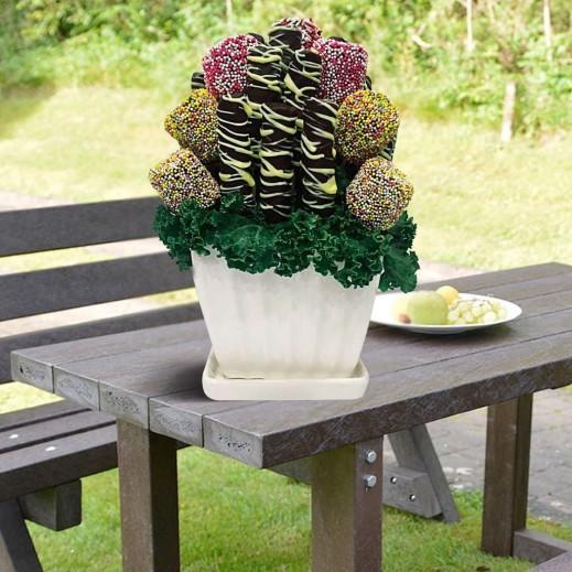 باقة عشاق المارشميلو - يتم التوصيل بواسطة Fruit Art