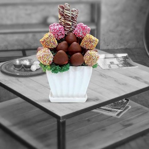 أمنيات طيبة - يتم التوصيل بواسطة Fruit Art