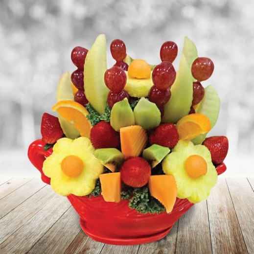 باقة الفواكه الشهية - يتم التوصيل بواسطة Fruit Art