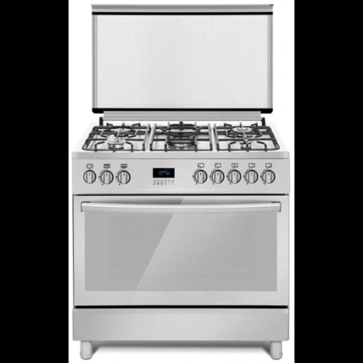 فيرري – طباخ غاز 5 شعلة 60×90 – فضي - يتم التوصيل بواسطة AL ANDALUS TRADING COMPANY