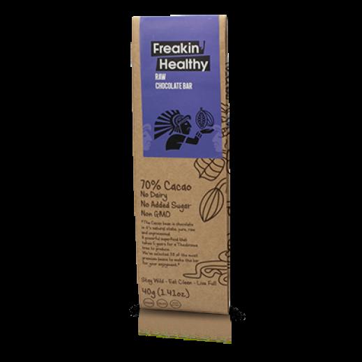فريكن هيلثي – بار سوبر فوود الشوكولاته الخام خالي من الغلوتين 40 جم
