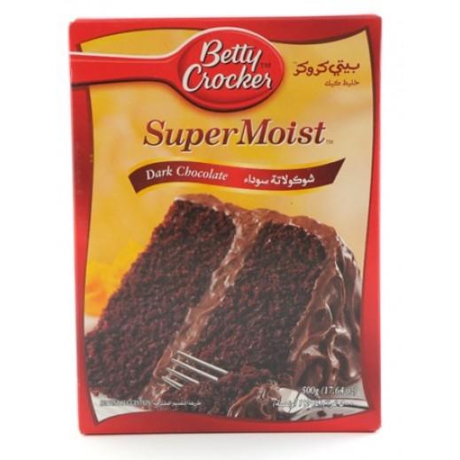 بيتي كروكر - خليط كيك بالشوكولاتة الداكنة 500 جم