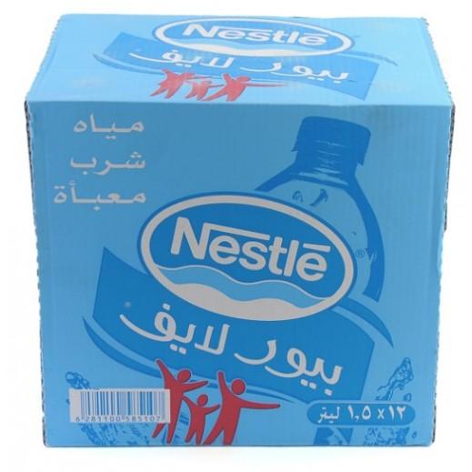 نستلة - مياه شرب نقية 6 × 1.5 لتر