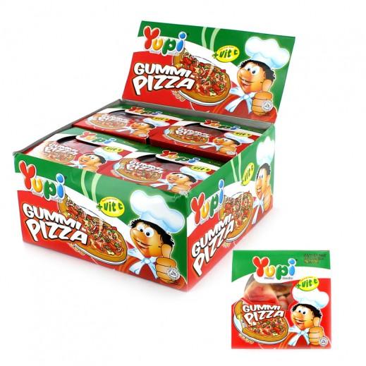 يوبي – حلوى جيلاتين بيتزا 15 جم ( 4 × 24 حبة ) - أسعار الجملة
