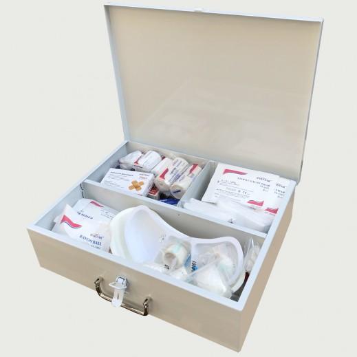العيسى – حقيبة الاسعافات الأولية 50 شخص - يتم التوصيل بواسطة Al Essa Company
