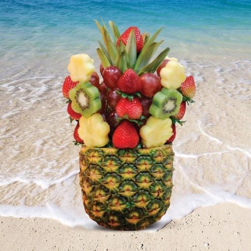 باقة فروتي - يتم التوصيل بواسطة Fruit Art