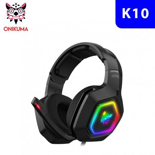 أونيكوما - سماعة رأس K10 برو سلكية لألعاب الفيديو