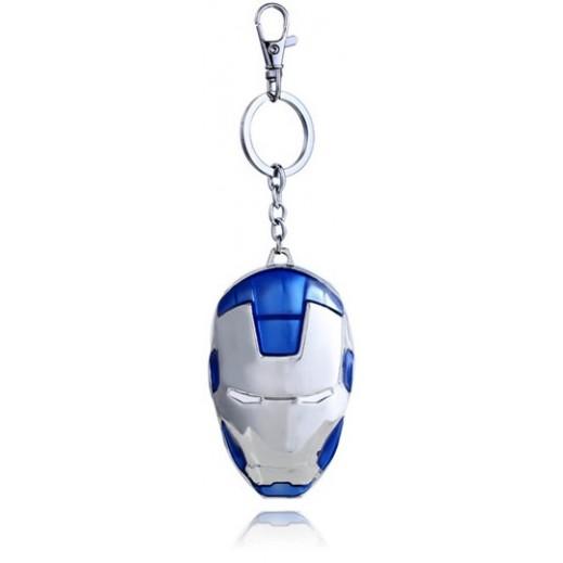 علاقة مفاتيح بتصميم أيرون مان - أزرق