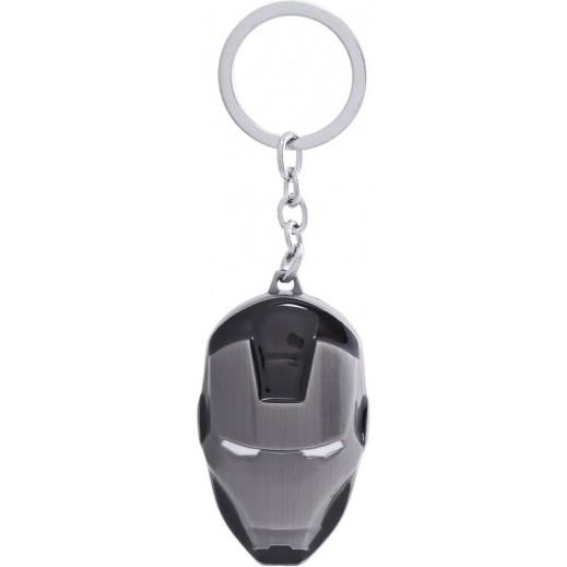 علاقة مفاتيح بتصميم أيرون مان - أسود