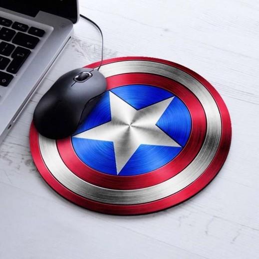 لوحة لمس لماوس الكمبيوتر Captain America