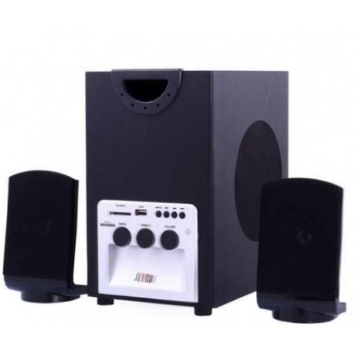 جامبو نظام صوتي 2.1 قناة مع وظائف USB/SD CARD/FM/ جهاز التحكم عن بعد 1