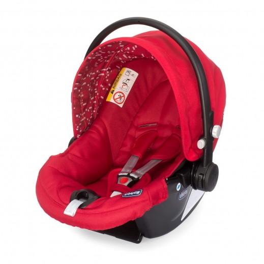 شيكو – كرسي السيارة Synthesis XT Plus للأطفال - لون أحمر