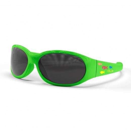 شيكو – نظارات شمسية للأولاد والبنات - نقشة كيدز فلو أخضر - سن الولادة فما فوق