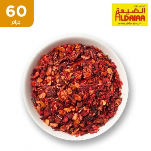 الضيعة - فلفل احمر مجروش 60 جم