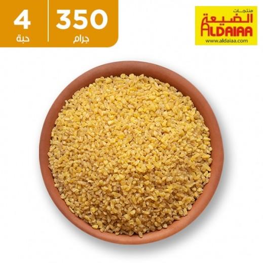 الضيعة - برغل اصفر خشن 4 × 350 جم