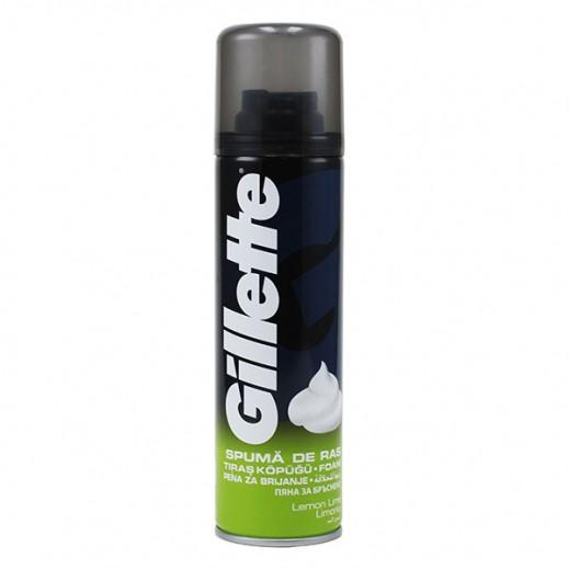 جيليت - رغوة الحلاقة بالليمون 200 مل