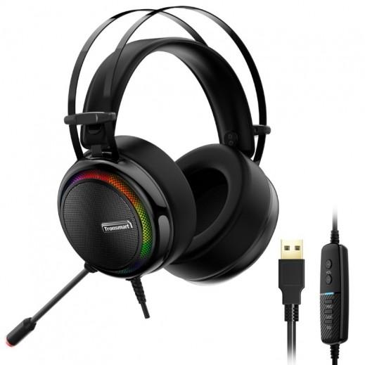 ترونسمارت – سماعة رأس Glary لألعاب الفيديو – أسود