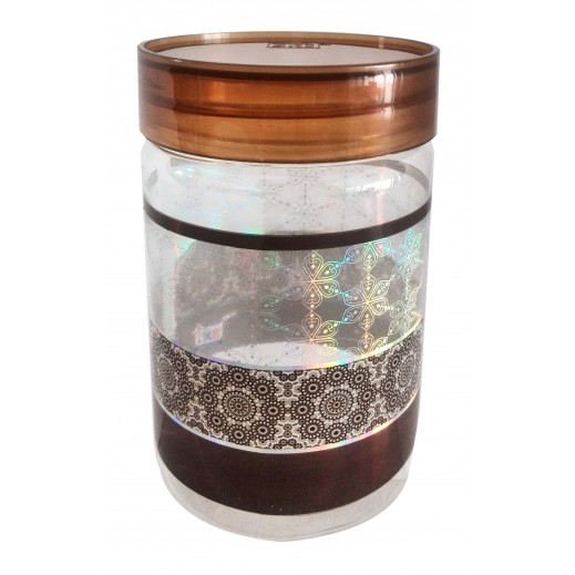 جريس - طقم أوعية بلاستيك 6 حبة مع ملعقة (ألوان متعددة) - 500 مل