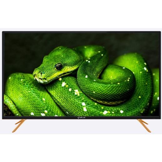 جراتوس - تلفزيون ذكي 55 بوصة 4K UHD LED - يتم التوصيل بواسطة Smart Stores
