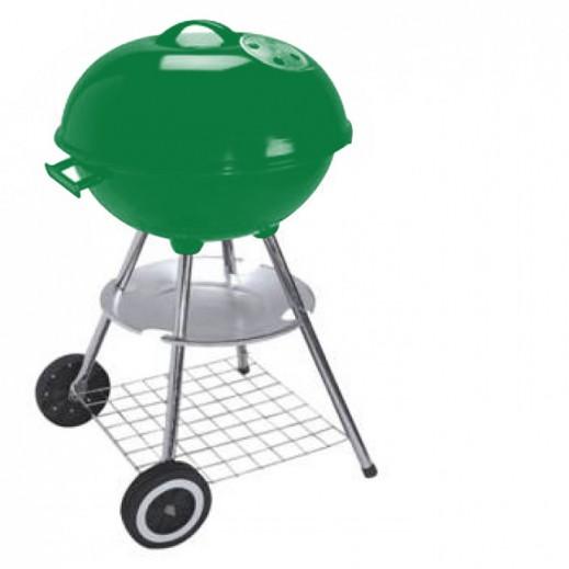 جريت ستار – شواية فحم تروللي 47 × 85 سم – أخضر