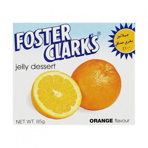 فوستر كلاركس - حلوى الجيلاتين بنكهة البرتقال 85 جم (10 حبات + 2 مجاناً)