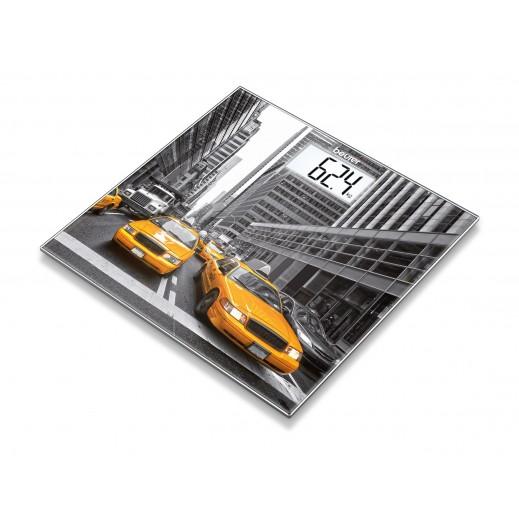 بيورير – ميزان حمام زجاج نيويورك موديل GS 203