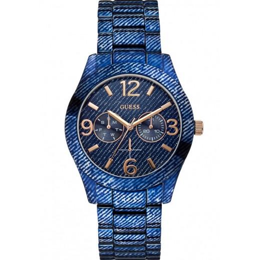 جيس - ساعة يد للنساء، أزرق - يتم التوصيل بواسطة التوصيل بعد 4 أيام عمل بواسطة بيضون