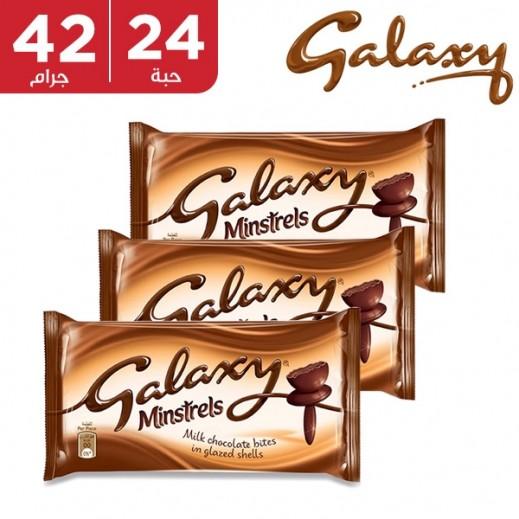 جالاكسي - شوكولاتة منسترلز 24 × 42 جم
