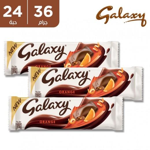 جالاكسي شوكولاتة برتقال 24 × 36 جم
