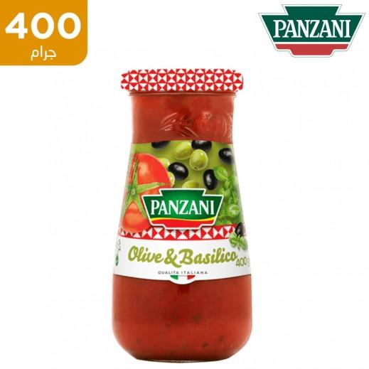 بنزاني صلصة الطماطم بالزيتون و الريحان 400 جم