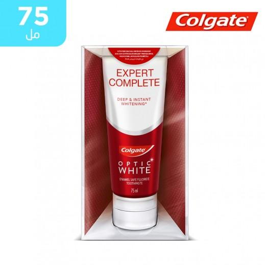 كولجيت - معجون أسنان أوبتيك وايت إكسبرت لتبييض الأسنان - 75 مل