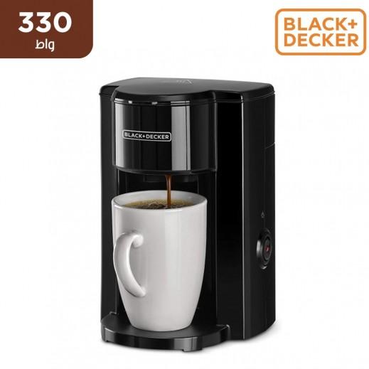بلاك أند ديكر – صانعة قهوة اسبريسو 1 كوب بقوة 330 واط – أسود