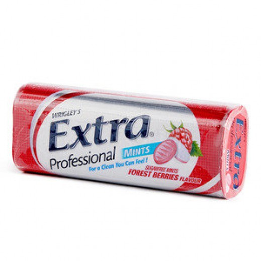 ريجليز - علكة نعناع إكسترا فاخر بنكهة التوت البري (خالي من السكر) - 20 حبة (20 جم)