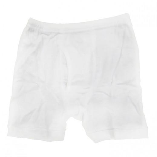تراي – سروال داخلي نصف للرجال لون أبيض (مقاس M - XXXL)