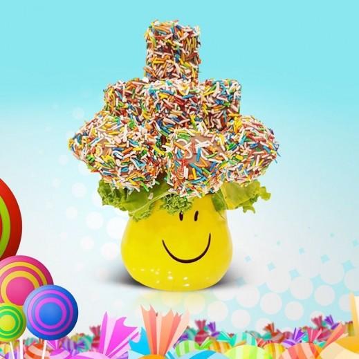هابى بوكيه - يتم التوصيل بواسطة Fruit Art