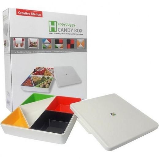 صندوق الحلويات - متعدد الألوان