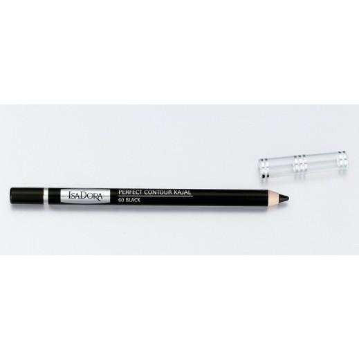 ايزادورا – قلم كحل كاجال ضد الماء بظل أسود (60 Black)