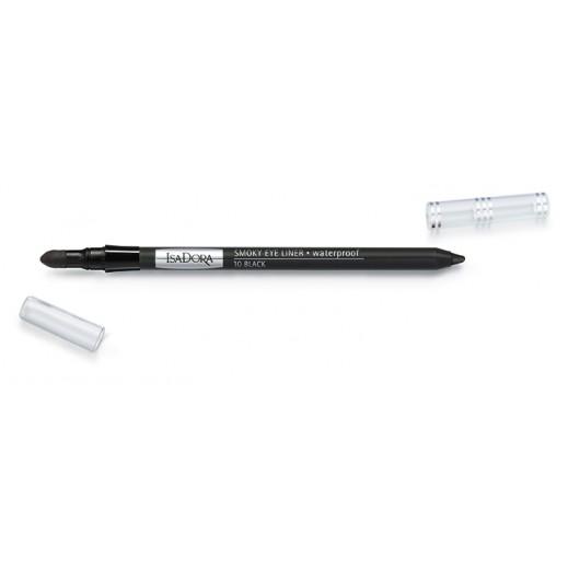 ايزادورا – قلم سائل للعيون مضاد للماء بظل أسود (10 Black)