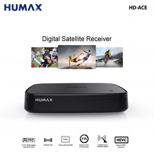 هيوماكس - ريسيفر رقمي عالي الدقة HD-ACE