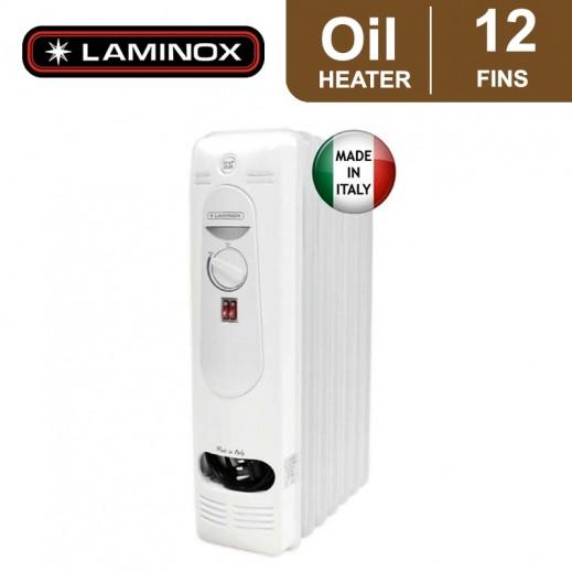 لامينوكس - دفاية زيت 12 ريشة 2,500 واط - أبيض - يتم التوصيل بواسطة ALI ABDULAZIZ AL SANEA COMM. EST.