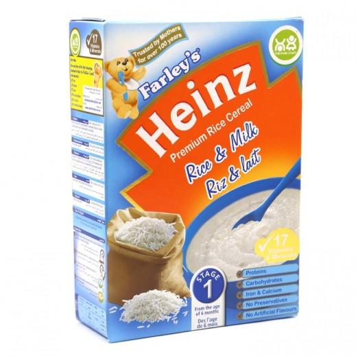 هاينز - فارليز حبوب أرز وحليب مرحلة الأولى (من سن 6 أشهر) 250 جم