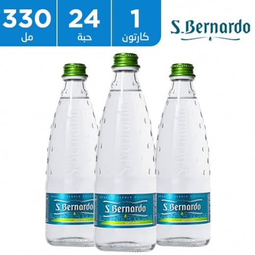 سان برناردو – مياه معدنية طبيعية 24 × 330 مل