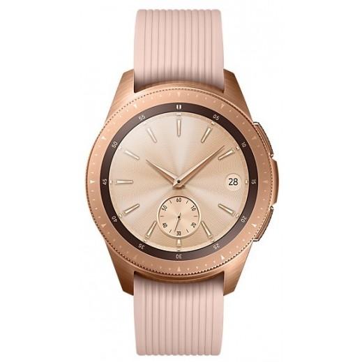 سامسونج - ساعة Galaxy Watch قياس 42 مم – وردي ذهبي - يتم التوصيل بواسطة شركة توصيل خلال يوم عمل واحد