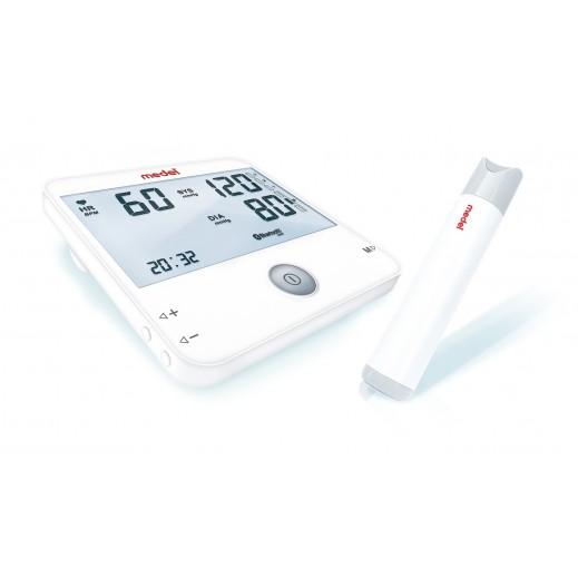 ميدل - جهاز قياس ضغط الدم من أعلى الذراع مع خاصية ECG موديل 95129 - يتم التوصيل بواسطة التوصيل بعد يومين عمل  بواسطة العيسى