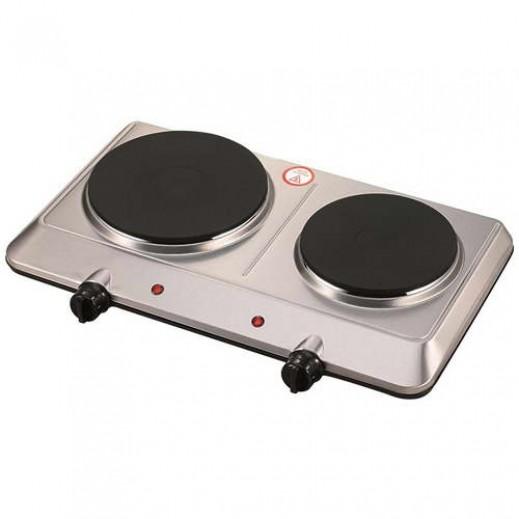 أوركا – طباخ كهربائي 2 شعلة 2250 واط – فضي