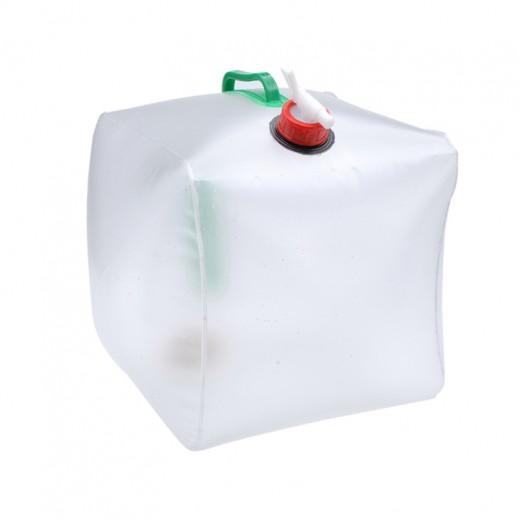 جالون ماء بلاستيك قابل للطي سعة 20 لتر