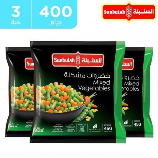 السنبلة - خضروات مشكلة مجمدة 3 × 450 جم